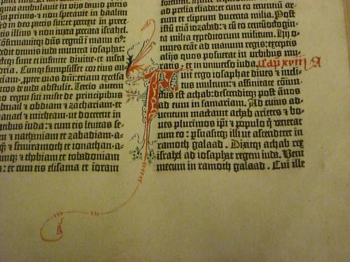 Gutenberg Bible image