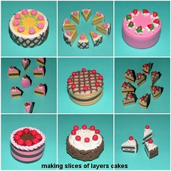 Making Layers Cakes (Polymer Clay) (yifatiii) Tags: ceramica cakes cake studio cherry miniature pc yummy strawberry keychain pin phone sweet handmade chocolate sewing cream cellphone cell sew charm polymerclay fimo biscuit clay doughnut layer sculpey pincushion etsy sponge cushion charms topper kato plastica premo polyclay arcilla ceramicaplastica pastesintetiche coldporcelain polimerica prosculpt arcillapolimerica arcillaspolimericas arcillaspolimricas porcelanaenfro yifatiii layerscakes sewingpin porcelanaenfrio