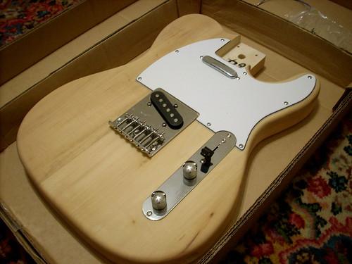 bridge with saga tc 10 kit telecaster guitar forum