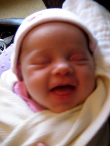 Amina's smile