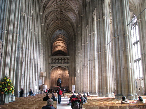 Canterbury Cathedral's Nave