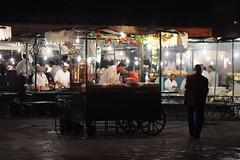 Djemaa el Fna - tea vendor (Woz!) Tags: street travel people urban canon eos streetscene morocco marrakech marrakesh alhamra redcity eos400d
