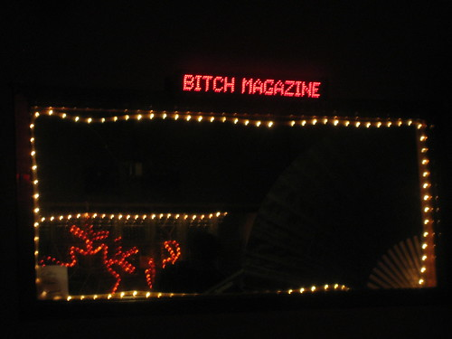 bitch in lights!