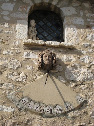 Sundial in Gourdon France