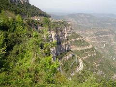 Montserrat (environs) (fredpanassac) Tags: espaa verde green nature montagne landscape spain natur vert montserrat grn paysage landschaft espagne spanien catalogne