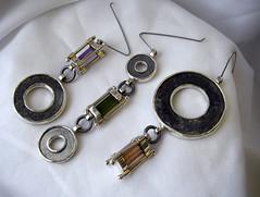 lamp silver rust iron steel earring jewelry jewellery genoa genova cz lantern corrosion eternalflame cubic staglieno zirconia justifiedsinner