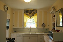Renovation: 1930's kitchen Crown Hill Seattle Washington USA
