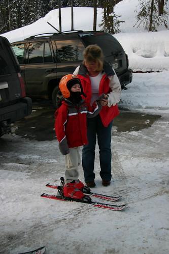 Seth on ice