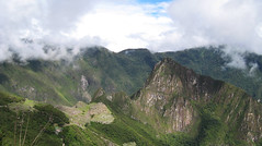 Sky, Mountains, City (icelight) Tags: city sky mountains peru picchu clouds forest landscape andes macchu huayna