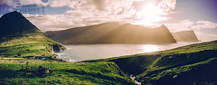 Vidareidi Sunset - Faroe Islands (@PAkDocK / www.pakdock.com) Tags: 2016 adventure cliff clouds faroe faroese feroe grass grassland green island islands islas lake landmark landscape nature ocean outdoor outdoors pakdock panorama panoramic planet sea sunny travel village wanderlust vidareidi church sunset fjord mountains mountain light voigtlander 15mm summer film cinematic