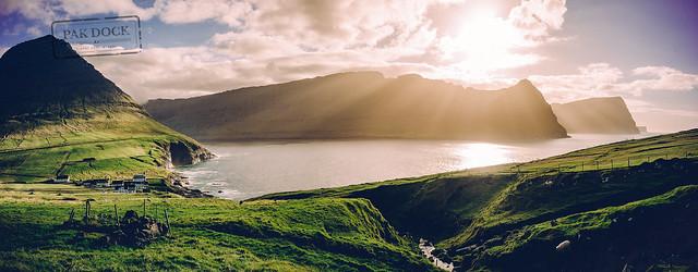 Vidareidi Sunset - Faroe Islands
