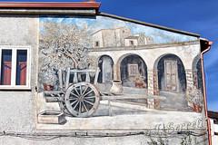 Murales - Gergei (Franco Serreli) Tags: sardegna sardinia paesieborghidisardegna gergei sarcidano murales stradedipaese centristorici muro muri ambientidisardegna
