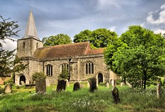Pluckley Church (Jez22) Tags: copyright church kent village haunted stnicholas ghosts pluckley jeremysage