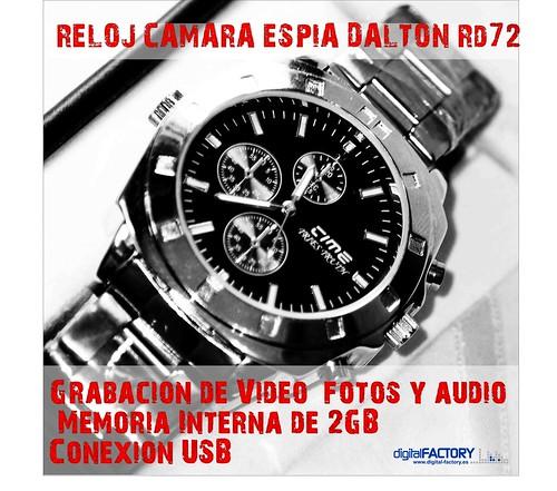 reloj cámara espía dalton rd72 informe a fondo