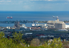 Salties May 2011 (Missabe Road) Tags: ships duluth lakesuperior ricespoint salties grainrush