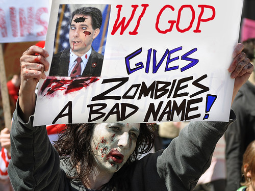 Wisconsin GOP Gives Zombies a Bad Name
