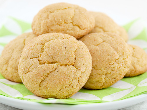Sour Cream Snickerdoodles