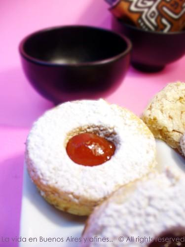 Cozinha biscoitos de amendoas