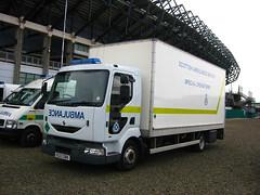 Renault Van (barronr) Tags: scotland edinburgh murrayfield sort majorincident scottishambulanceservice specialoperationsresponseteam