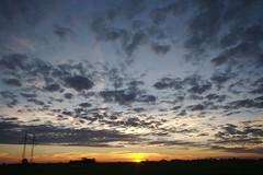 Skne sunset (Hkan Dahlstrm) Tags: autumn sunset sky orange sol del clouds soleil skne twilight zonsondergang tramonto sonnenuntergang sundown sweden dusk coucher himmel du ciel cielo sverige lucht puesta hst   skane  billeberga