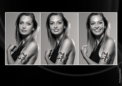 TRITTICO (Francesco Carta) Tags: white black fashion back model flash moda ligth bianco nero sinar trittico