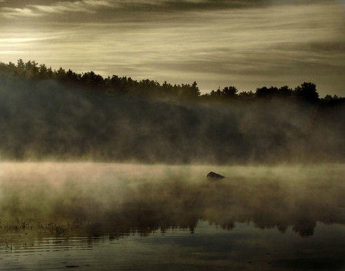 misty lake chocorua