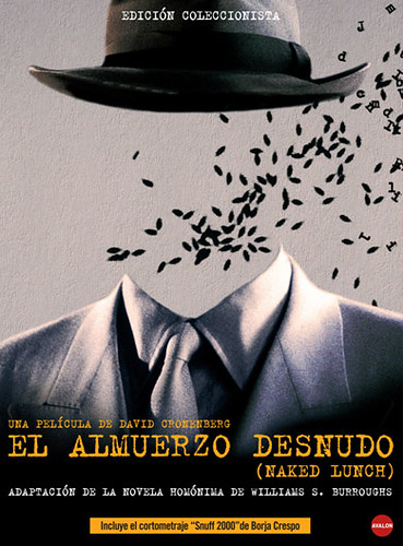 Portada Naked Lunch