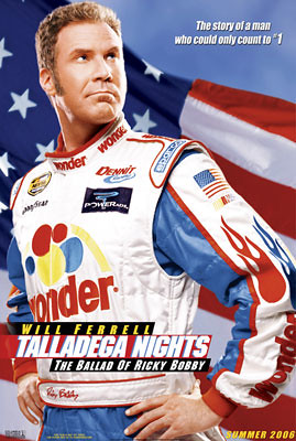 Talladega Nights: The Legend of Ricky Bobby (2006) Big Poster