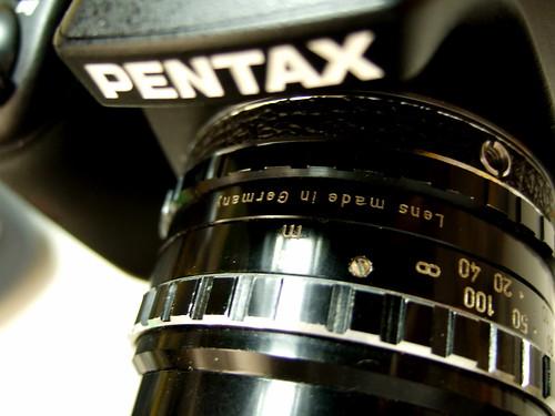 pentax FA 31mm f/1.8 limited
