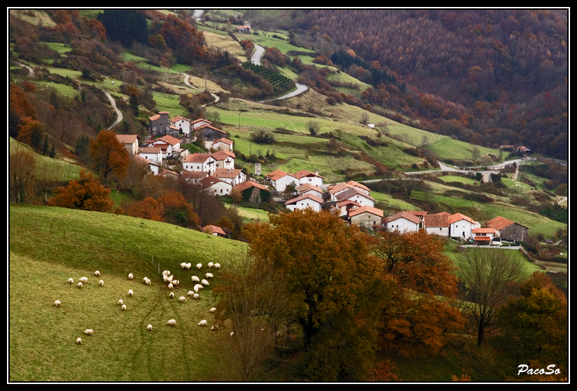 Photo de Navarre n°3. Le village d'Aspirotz
