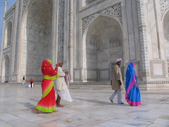 The Incredible Colours of India (craigkass) Tags: india monument taj mahal tajmahal agra unesco incredible sevenwonders lpvibrant