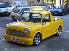 Yellow (TomikoPL) Tags: car yellow copenhagen denmark mini vehicle tuning danmark kbenhavn dania amager samochd kopenhaga pojazd