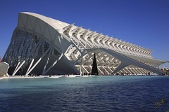 Museo Principe Felipe (R. Clemente) Tags: valencia architecture canon arquitectura ciudad calatrava 5d museo artes felipe ciencias principe rafaclemente