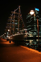 canary wharf dock (gotamintvtr) Tags: london night docks time photos wharf canry