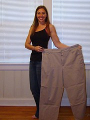 Laura and her Fat Pants (Laura Jones) Tags: summer loss beforeandafter weightloss weight weightwatchers beforeafter 2007