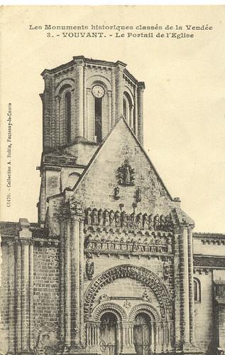 vouvant l'église 1916