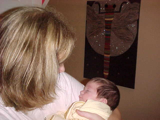 My first glimpse of you 12/28/04