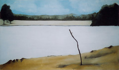 landscape1 (amsterdamse bos) (rintintinneke) Tags: art amsterdam painting landscape acrylic canvas