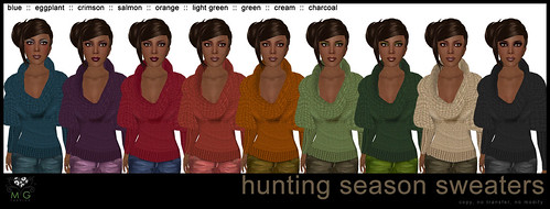 [MG fashion] Hunting Season Outfit Sweaters
