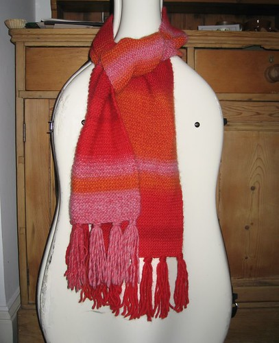 sunset scarf 2