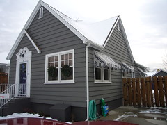 I bought a house. (mjanean) Tags: house cottage putty awnings saltbox