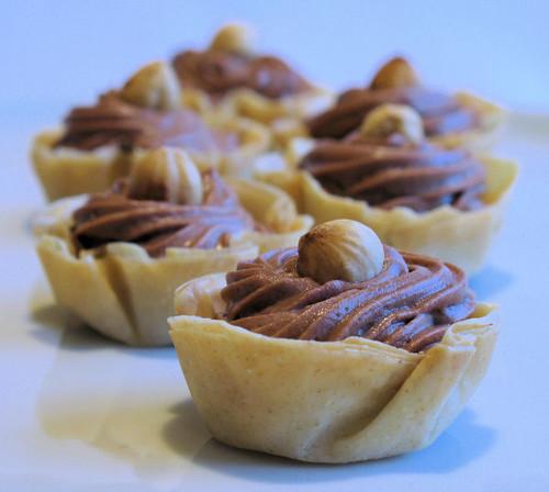 Nutella Filo Cups 2590