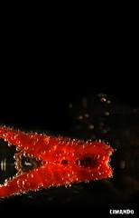 Breathe (limando) Tags: red black reflection rot water dark bravo aqua underwater bubbles oxygen breathe klammer kohlensure eyewashdesign mywinners platinumphoto limando