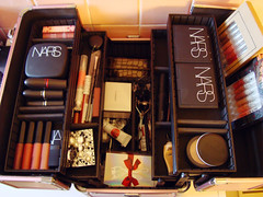 365/156 (lauramhepp) Tags: mac makeup stila nars project365 traincase sephoratraincase