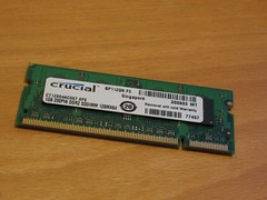 memory 1 GB bought for the EEEPC