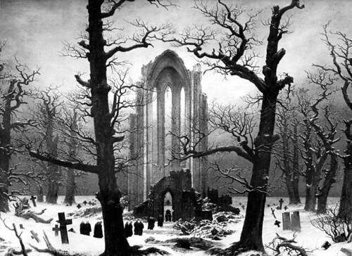 Cementerio en la Nieve