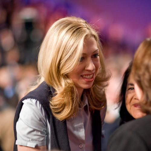 chelsea clinton @ Hillary Clinton Barack Obama Debate Austin 21 Feb 08