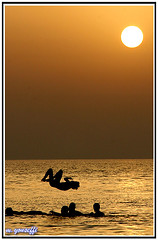 BIRTH (m_yousefi) Tags: sunset sun set birth    bushehr  canon30d supershot flickrlovers