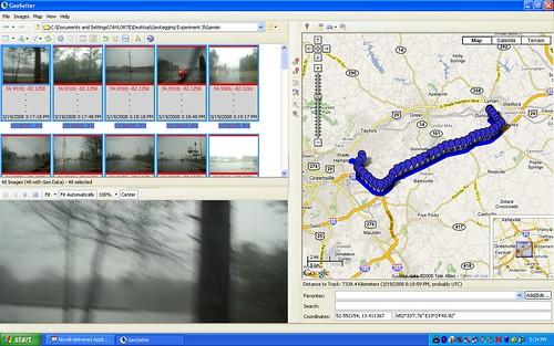 Garmin eTrex Legend Geotagging