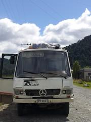 Carretera Austral - Chaiten - Coyhaique - bus